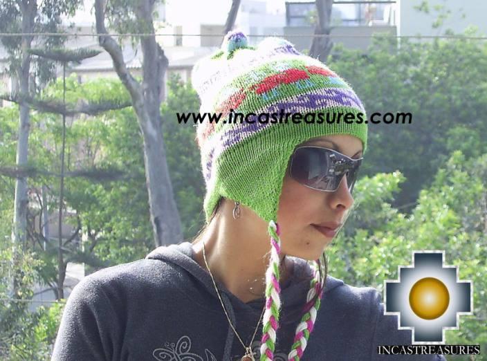 Alpaca Wool Hat Classic Design Llama Qumir - Product id: Alpaca-Hats09-07