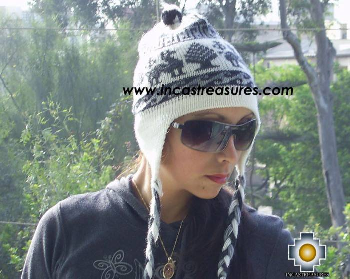 Alpaca Wool Hat Classic Design Llama tullu - Product id: Alpaca-Hats09-08