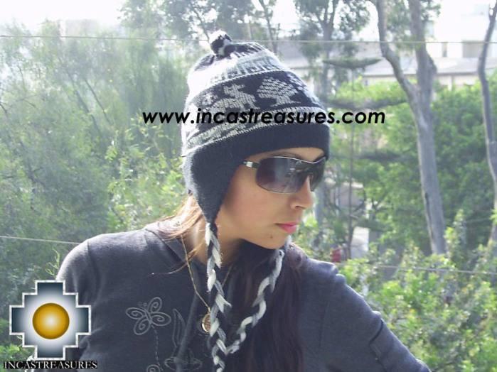 Alpaca Wool Hat Classic Design Llama yana - Product id: Alpaca-Hats09-09
