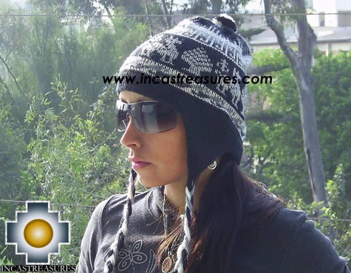 Alpaca Wool Hat Classic Design Llama yana -  Product id: Alpaca-Hats09-09 Photo01