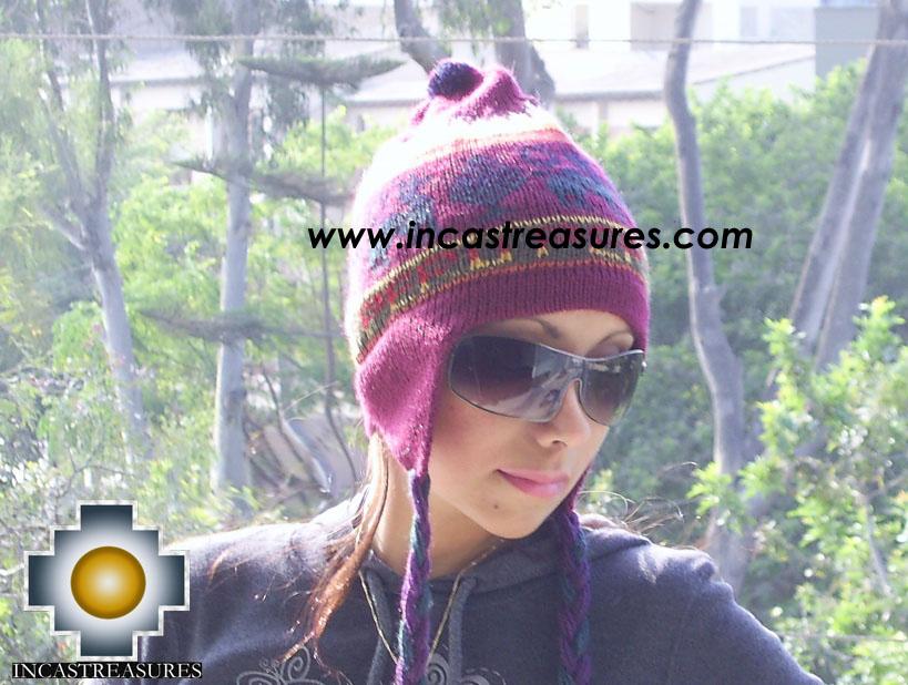 Alpaca Wool Hat Classic Design peru kulli - Product id: Alpaca-Hats09-11