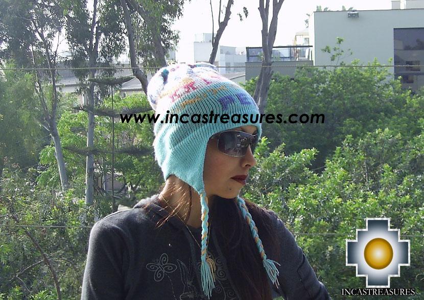 Alpaca Wool Hat Classic Design peru puquypacha - Product id: Alpaca-Hats09-13