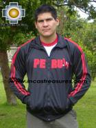 Sport Jacket PERU Black  - Product id: MENS-JACKET09-02 Photo02