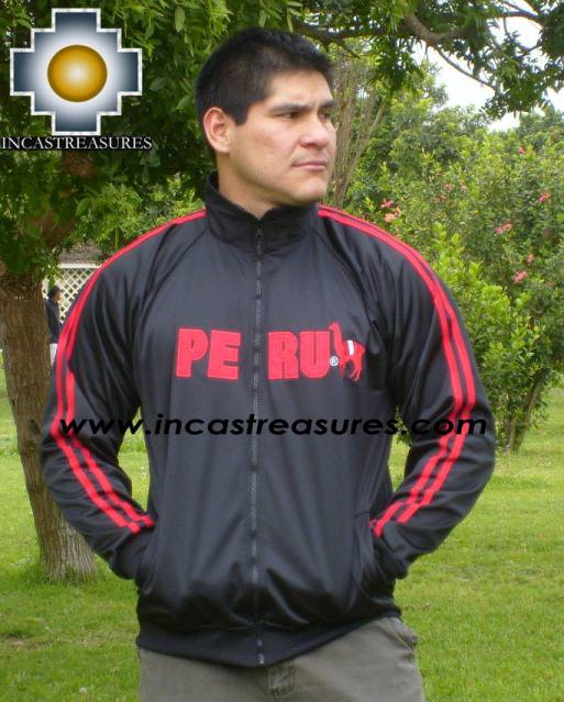 Sport Jacket PERU Black - Product id: MENS-JACKET09-02 Photo04