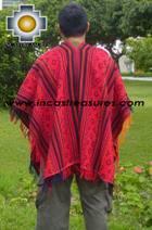 Andean Poncho Hualhua qusqu UNISEX  - Product id: ANDEAN-PONCHO09-01 Photo02