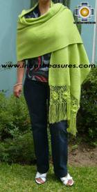 Rabbit Andean Shawl Kututu qumir - Product id: rabbit-shawl-02 Photo01