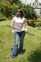 Women Rabbit Sweater crew-neck  - Product id: rabbit-sweater11-02 Photo02