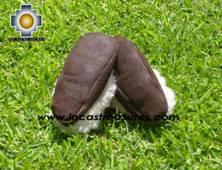 SHEEPSKIN SLIPPER brown HUASCARAN - Product id: SLIPPERS09-01 Photo03
