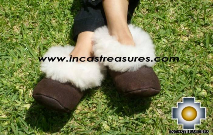 Sheepskin slipper Camel Huscaran