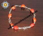 Jewelry bracelet huayruro seeds tuta  - Product id: Andean-Jewelry10-02 Photo03