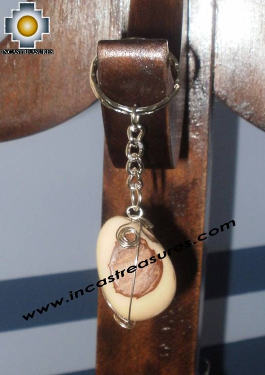Jewelry keyring Andean Charm jungle seeds Runakay - Product id: Andean-Jewelry10-09