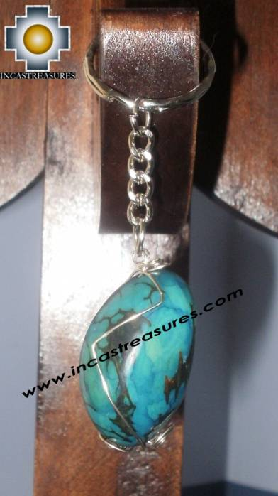 Jewelry keyring Andean Charm jungle seeds sami - Product id: Andean-Jewelry10-10 Photo03