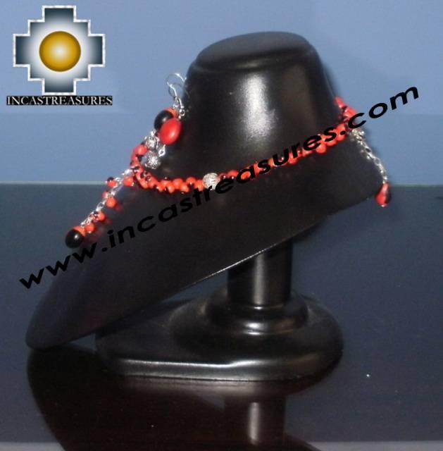 Jewelry kit Huayruro Seeds qhuya - Product id: Andean-Jewelry10-12 Photo01