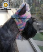 Alpaca Hat for Dogs psychedelic hat - Product id: dog-clothing-11-03 Photo04