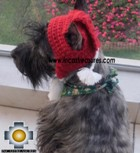 Alpaca hat for dogs Scottish Elf