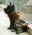 Dog Turtle neck sweater Brown - Product id: dog-clothing-10-06 Photo05