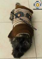 Dog Turtle neck sweater Brown - Product id: dog-clothing-10-06 Photo04