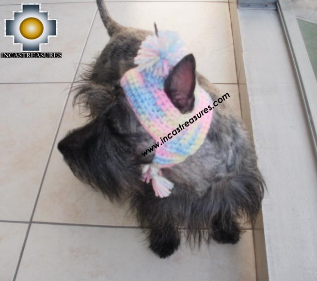 Alpaca Hat for Dogs psychedelic hat - Product id: dog-clothing-11-03