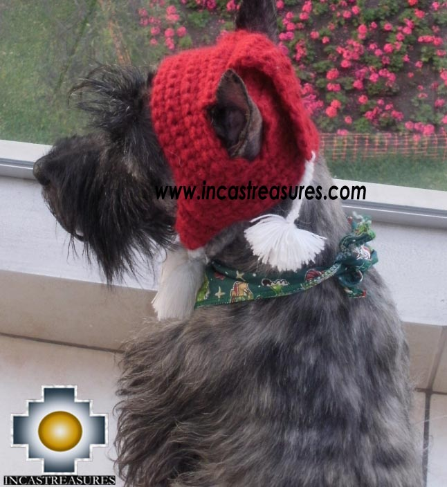 Alpaca Hat for Dogs scottish elf - Product id: dog-clothing-11-02