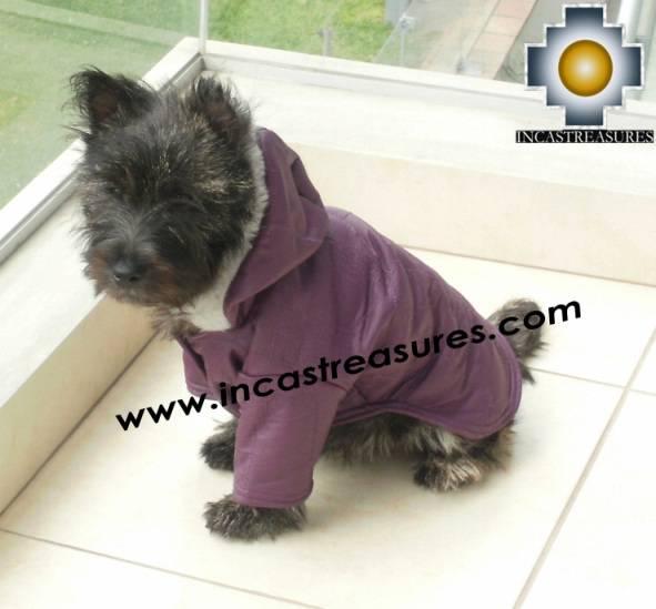 Dog Jacket with Hood ROBIN - Product id: dog-clothing-10-01
