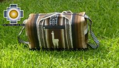 Alpaca Travel bag medium AMAUTA brown - Product id: HANDBAGS09-52 Photo02