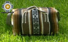 Alpaca Travel bag medium AMAUTA brown - Product id: HANDBAGS09-52 Photo04