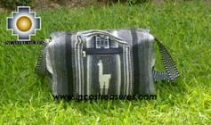 Alpaca Travel bag medium AMAUTA dark grey - Product id: HANDBAGS09-51 Photo02