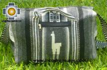 Alpaca Travel bag medium AMAUTA dark grey - Product id: HANDBAGS09-51 Photo03