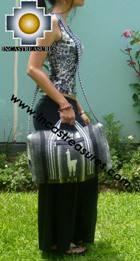 Alpaca Travel bag medium AMAUTA dark grey - Product id: HANDBAGS09-51 Photo01