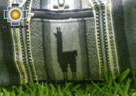 Alpaca Travel bag medium AMAUTA silver - Product id: HANDBAGS09-50 Photo03