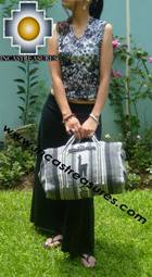 Alpaca Travel bag medium AMAUTA silver - Product id: HANDBAGS09-50 Photo01