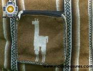 Andean Alpaca wool Handbag MESSENGER camel - Product id: HANDBAGS09-49 Photo03