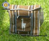 Andean Alpaca wool Handbag MESSENGER camel - Product id: HANDBAGS09-49 Photo02