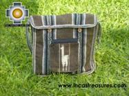Andean Alpaca wool Handbag MESSENGER earth - Product id: HANDBAGS09-46 Photo03