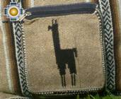 Andean Alpaca wool Handbag MESSENGER light-brown - Product id: HANDBAGS09-47 Photo03