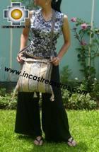 Andean rustic Handbag  SAN PEDRO - Product id: HANDBAGS09-75 Photo03