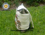 Beautiful Backpack with Incas culture borders journey   - Product id: HANDBAGS09-69 Photo04