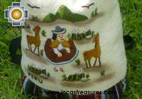 Beautiful Backpack with Incas culture borders MAMA OCLLO - Product id: HANDBAGS09-67 Photo03