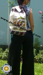 Beautiful Backpack with Incas culture borders MAMA OCLLO - Product id: HANDBAGS09-67 Photo01