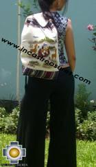 Beautiful Backpack with Incas culture borders MAMA OCLLO