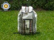 big alpaca travel backpack IVORY - Product id: HANDBAGS09-38 Photo01