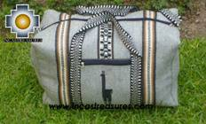 Big Alpaca Travel bag TAMBO silver - Product id: HANDBAGS09-55 Photo02