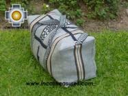 Big Alpaca Travel bag TAMBO silver - Product id: HANDBAGS09-55 Photo03