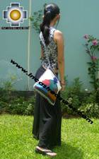 big Handmade sheep wool square handbag big-paisanas - Product id: HANDBAGS09-28 Photo01