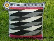 big Handmade sheep wool square handbag dimentions - Product id: HANDBAGS09-30 Photo03