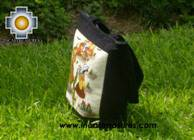 Handbag with handmade embroided ayacucho - Product id: HANDBAGS09-72 Photo03