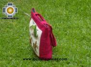 Handbag with handmade embroided grazing - Product id: HANDBAGS09-74 Photo02