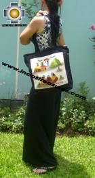 Handbag with handmade embroided weavers - Product id: HANDBAGS09-72 Photo04