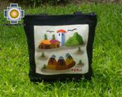 Handbag with handmade embroided weavers - Product id: HANDBAGS09-72 Photo01