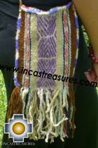 Handbag with handmade embroided ayacucho - Product id: HANDBAGS09-64 Photo01